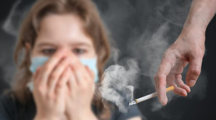 التدخين المنزلي
